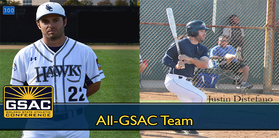 Photo for Justin Distefano Selected to All-GSAC Team