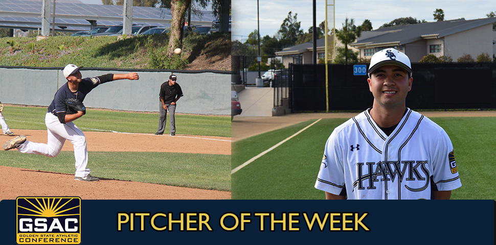 Photo for Michael Robards Selected as GSAC Pitcher of the Week