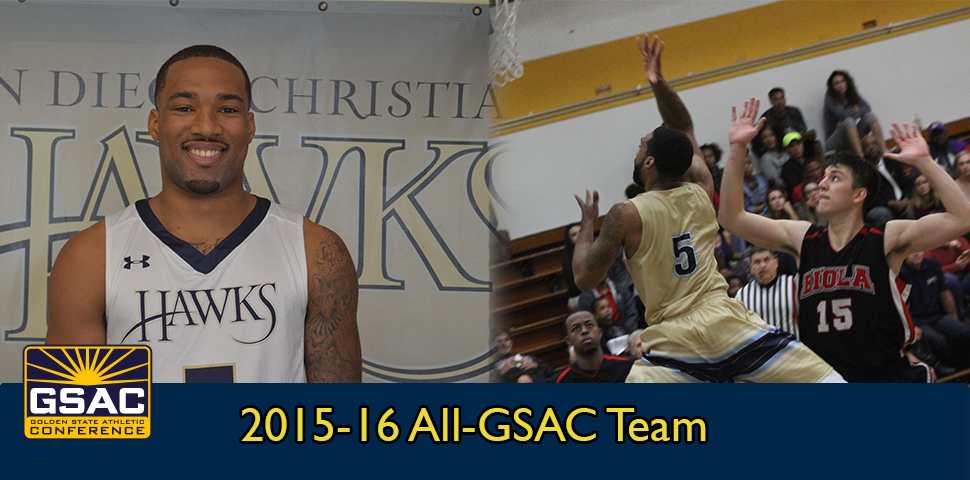 Photo for Dalante Dunklin Named to the 2015-16 All-GSAC Team Presented by Under Armour