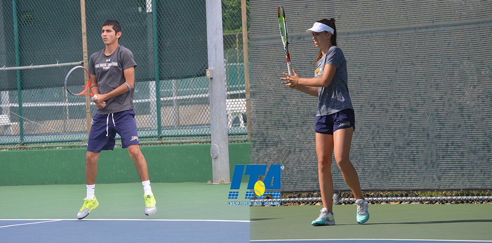 Photo for Brendan Aguilar and Aleksandra Emelianova Earn ITA National Awards