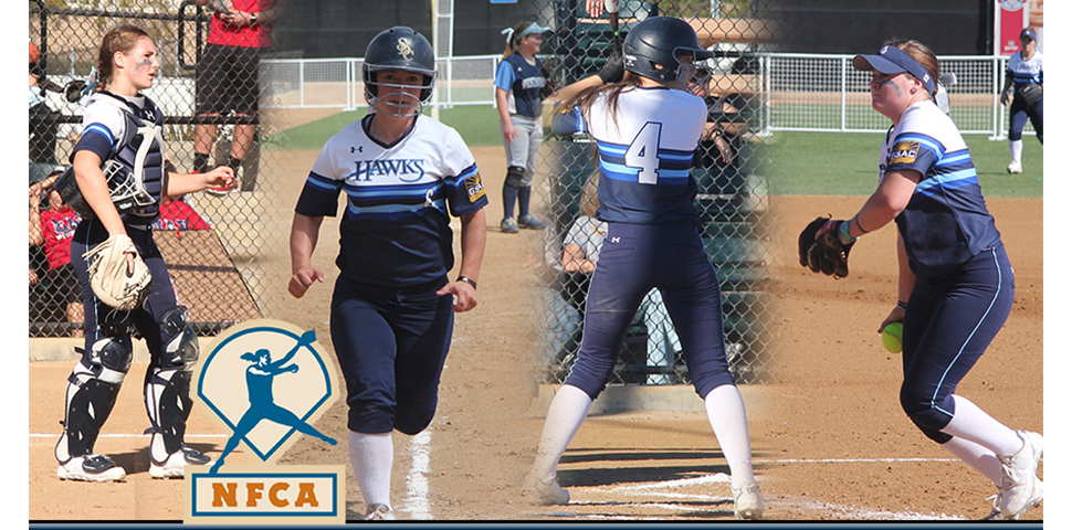 Photo for Evans, Neal, Harris, Kuper Earn NFCA All-West Region Awards