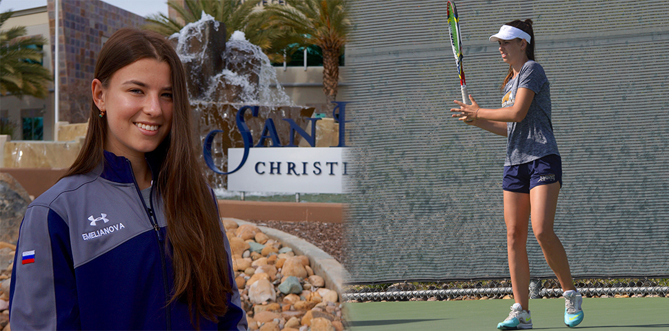 Photo for Aleksandra Emelianova Earns All-GSAC Honors