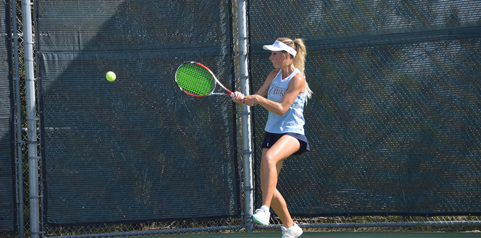 Photo for Women's Tennis Defeats HIU 7-2 in Season Finale