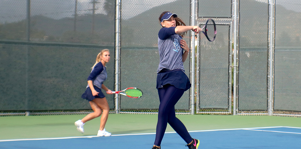 Photo for SDC Tennis Floods Postseason Awards Lists
