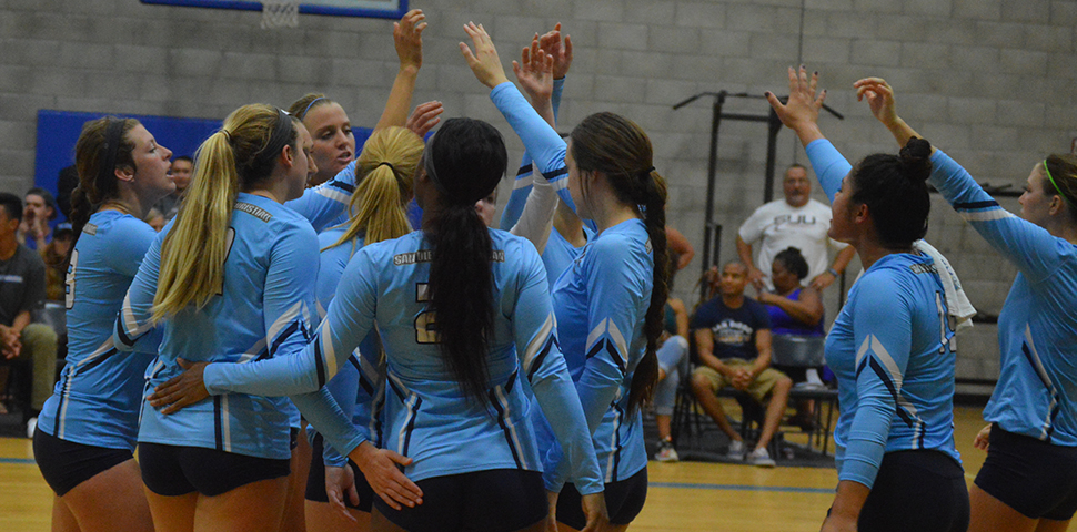 Photo for Women's Volleyball Defeats Arizona Christian for Season-Ending Win