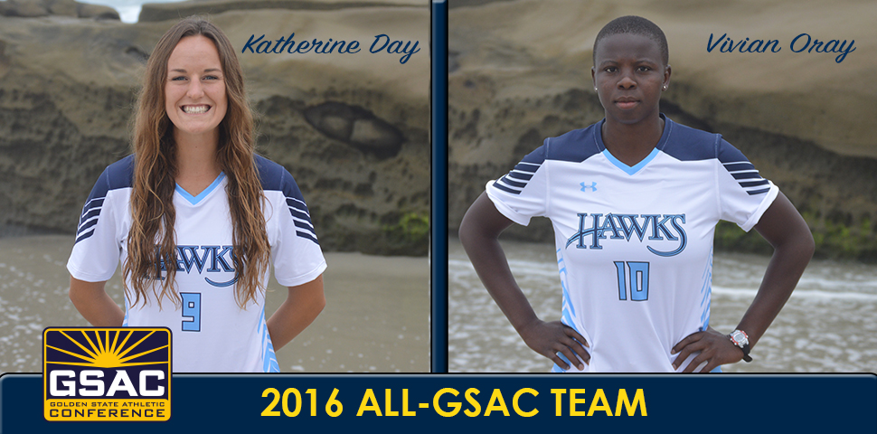 Photo for Oray, Day Earn All-GSAC Honors