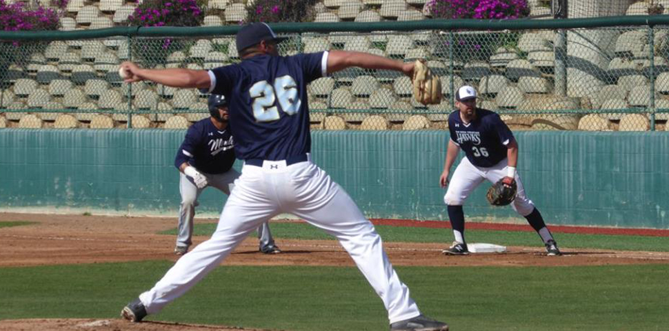Photo for Hawks Top Firestorm Behind Mark Young's Strong Outing