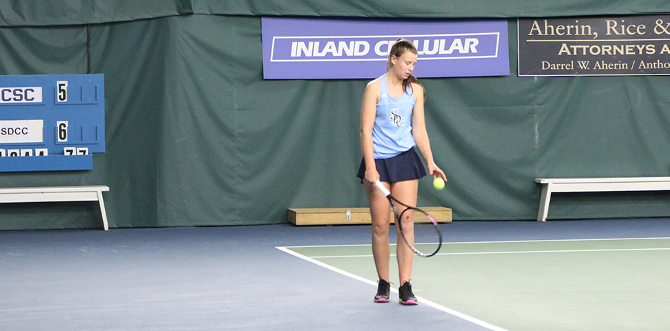 Photo for Women's Tennis Ranked School-Best No. 8 in NAIA Top 25 Poll