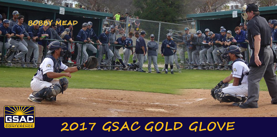 Photo for Bobby Mead Earns GSAC Gold Glove