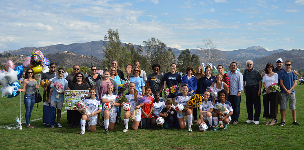 Photo for Women's Soccer Ends Season With 4-0 Win on Senior Day