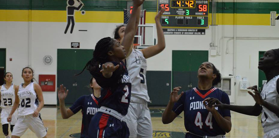Photo for Women's Basketball's Upset Bid Falls Just Short Against No. 5 Vanguard