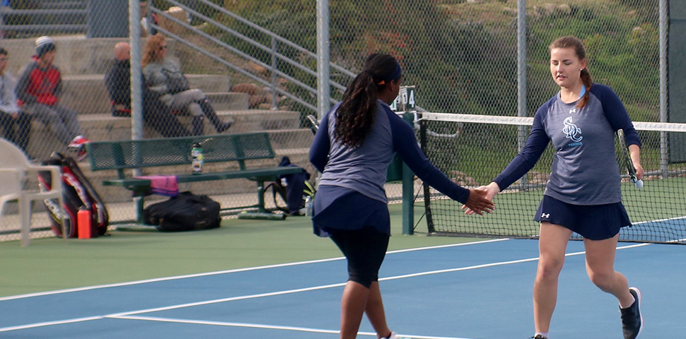 Photo for Women's Tennis Upset by William Woods 5-3