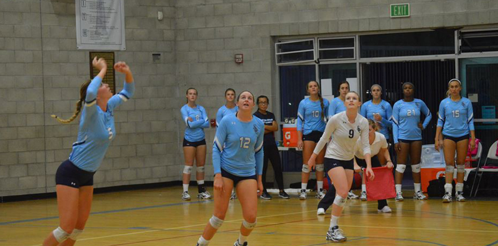 Photo for No. 13 Biola Holds Off Women's Volleyball