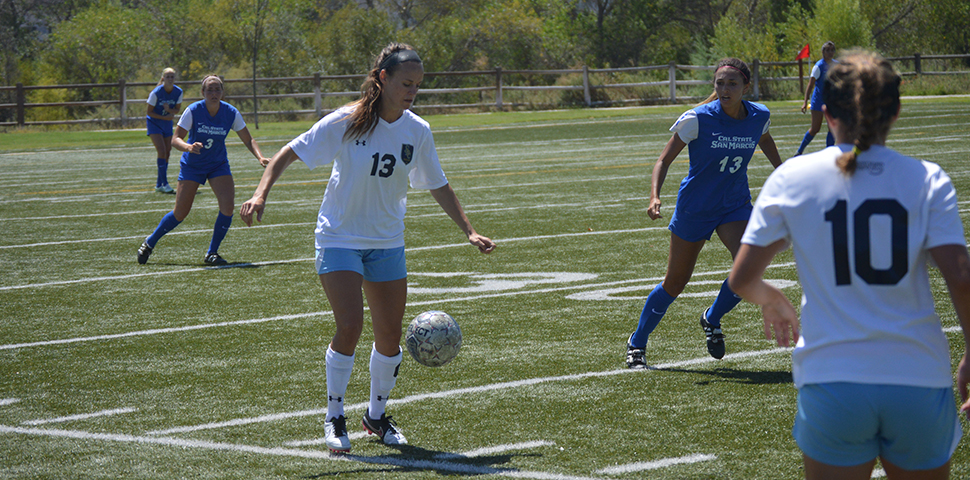 Photo for Katherine Day's Late Equalizer Salvages Tie Against HIU